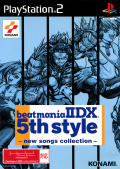 beatmania IIDX 5th style: new songs collection PlayStation 2 Front Cover