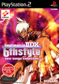 beatmania IIDX 6th style: new songs collection PlayStation 2 Front Cover