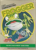 Frogger ColecoVision Front Cover