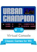 Urban Champion Wii Front Cover