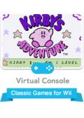 Kirby's Adventure Wii Front Cover