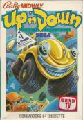 Up 'n Down Commodore 64 Front Cover
