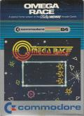 Omega Race Commodore 64 Front Cover