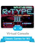 R-Type III: The Third Lightning Wii Front Cover