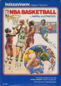 NBA Basketball Intellivision Front Cover