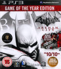 Batman: Arkham City - Game of the Year Edition PlayStation 3 Front Cover