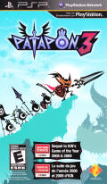Patapon 3 PSP Front Cover