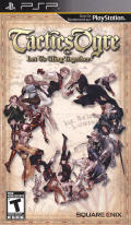 Tactics Ogre: Let Us Cling Together PSP Front Cover