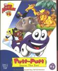 Putt-Putt Saves the Zoo Macintosh Front Cover
