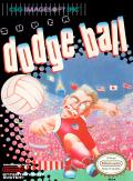Super Dodge Ball NES Front Cover