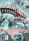 RollerCoaster Tycoon 3: Platinum! Macintosh Front Cover
