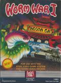 Worm War I Atari 2600 Front Cover