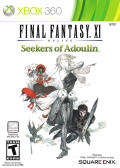 Final Fantasy XI Online: Seekers of Adoulin Xbox 360 Front Cover
