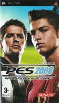 PES 2008: Pro Evolution Soccer PSP Front Cover
