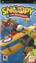 Snoopy vs. the Red Baron PSP Front Cover