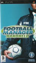 Football Manager Handheld PSP Front Cover