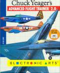 Chuck Yeager's Advanced Flight Trainer 2.0 Atari ST Front Cover