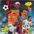1st Division Manager Amiga Front Cover