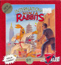 International Ninja Rabbits Atari ST Front Cover