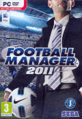 Football Manager 2011 Macintosh Front Cover