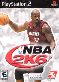 NBA 2K6 PlayStation 2 Front Cover
