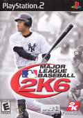 Major League Baseball 2K6 PlayStation 2 Front Cover
