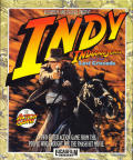 Indiana Jones and the Last Crusade: The Action Game Atari ST Front Cover