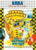 The Incredible Crash Dummies SEGA Master System Front Cover