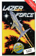 Lazer Force Commodore 64 Front Cover