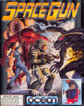 Space Gun Atari ST Front Cover