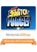 Mighty Switch Force! Nintendo 3DS Front Cover 1st version