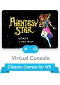 Phantasy Star Wii Front Cover