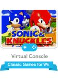 Sonic & Knuckles Wii Front Cover