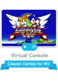 Sonic the Hedgehog 2 Wii Front Cover