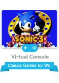 Sonic the Hedgehog 3 Wii Front Cover