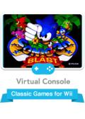 Sonic 3D Blast Wii Front Cover