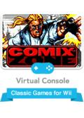 Comix Zone Wii Front Cover