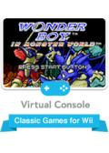 Wonder Boy in Monster World Wii Front Cover