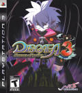 Disgaea 3: Absence of Justice PlayStation 3 Front Cover