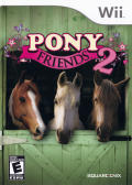 Pony Friends 2 Wii Front Cover