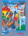 City Defence Amiga Front Cover