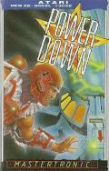 Power Down Atari 8-bit Front Cover
