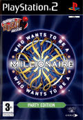 Who Wants to Be a Millionaire: Party Edition PlayStation 2 Front Cover