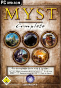Myst Complete (I-V) Windows Front Cover