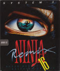 The Last Ninja Atari ST Front Cover