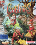 Gobliiins Atari ST Front Cover