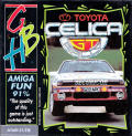 Toyota Celica GT Rally Atari ST Front Cover