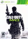 Call of Duty: MW3 Xbox 360 Front Cover