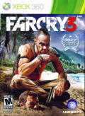 Far Cry 3 Xbox 360 Front Cover