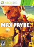 Max Payne 3 Xbox 360 Front Cover